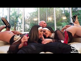 Very sinful threesome priest and two nuns free Hd porn and sex videos