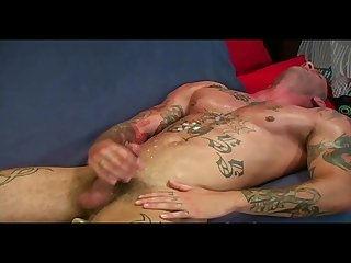 Solo muscle cumshot compilation 6