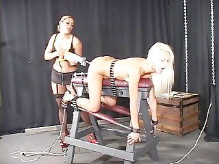 Bondage bitch interviews scene 4