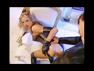 Briana banks latex fuck at the open fire