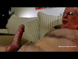 Fucked by a big dildo ass to mouth and cum