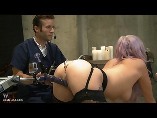 Experimental fucking machines bdsm and squirting a must see very unique