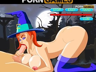 Robin and the witches get into an Insane orgy hentai game play thru