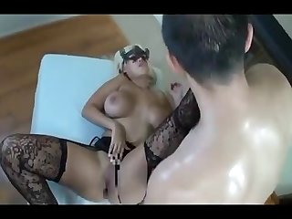 Amwf latina bridgette b interracial with asian guy