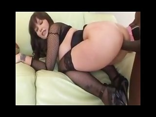 Cute milf takes a black cock