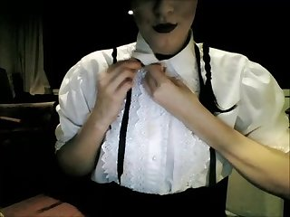 Dark and sexy wednesday addams solo roleplay