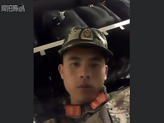 Handsome Chinese soldier Pt 1