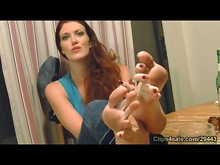 Sabrina fox soles toes interview
