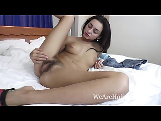 Enjoy dominika sand naked in bed looking amazing