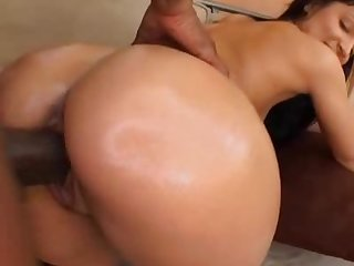 Cuty college girl sucks N fuck huge black cock 4 6
