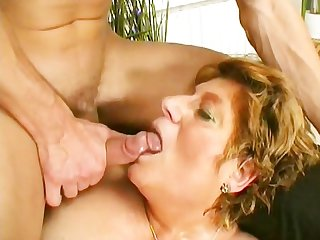 Horny grandma looks for lover scene 1