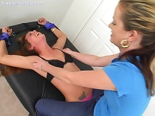 Undergoing a thorough tickling f f summer tickling stacy