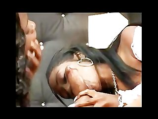 Ebony threesome
