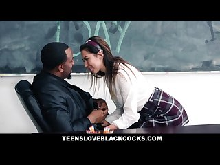 Teensloveblackcocks big black dicking on mlk day