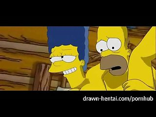 simpsons porn threesome