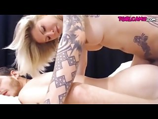 Ts danni fucks guys ass