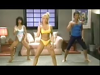 Warm up with traci lords classic exercise video sfw Funny 80 S aerobics