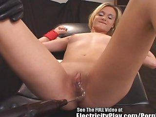 Acrobatic bitch bondage zap fucked