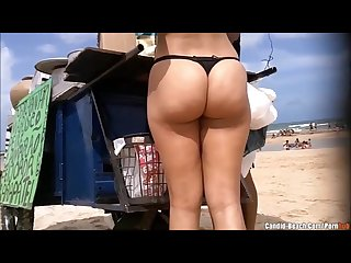 Beach Bikini Girls Sexy Ass Voyeur HD Video