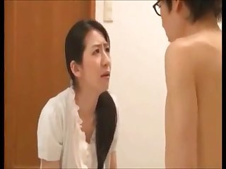 Japanese son pregnant his mom