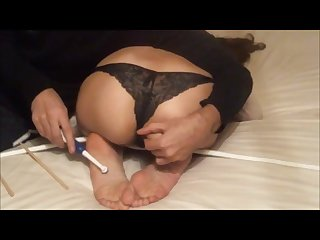 Princess Jasmine feet tickling till the orgasm