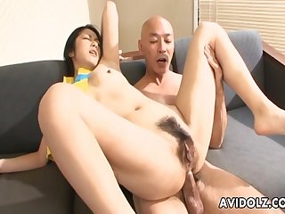 Asian whore loves to ride the dude s hot cock