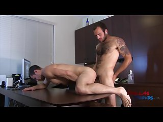 Bareback office fuck starring maxx fitch and dalton pierce