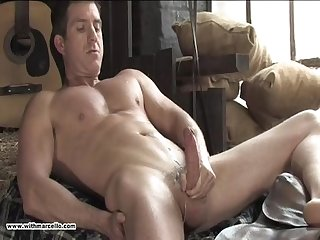 Jerk off mature verbal guy