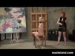 Femdom art appreciation slave training unusual punishments