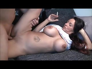 Busty german milf smoking fetish