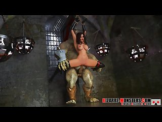 3d monster porn Vampire lust troll fuck slave girl pics and video comp