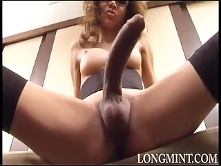 Amazing big shemale waving cocks compilation