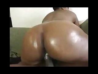 Busty black milf creams for cock
