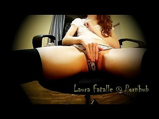 Daughter caught masturbating while watching porn part 2 Laura fatalle