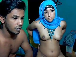Newly married south indian couple with ultra hot babe webcam show 7