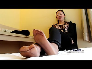 Abby s nylon feet