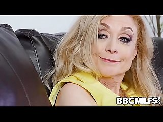 Old fucking granny Nina Hartley loves BBC and despite being 80 years old she is still horny as a..