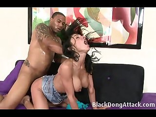 Persia Monir gets fucked by a black man