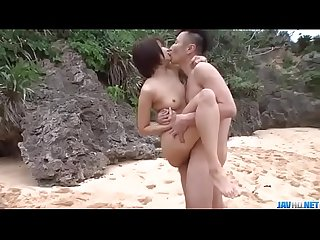 Mind blowing outdoor trio with slim beauty saya tachibana more at javhd net