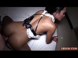 Thai Ladyboy Kyrha Fucked Bareback