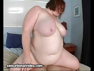 Redhead BBW Dawn Davenport Gets Fucked Outside By Pool