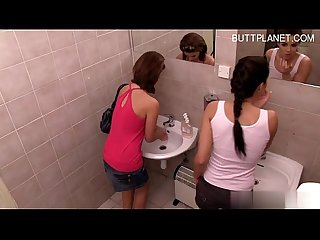 Big tits brunette pov
