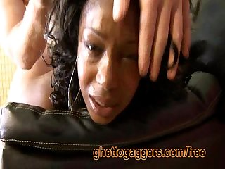 Nina moore gets her ass violated by a white guy