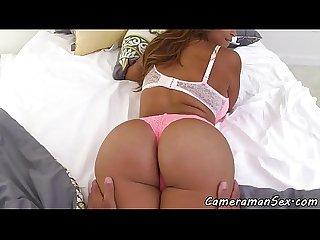 Tittyfucking milf pov fucked in wet pussy