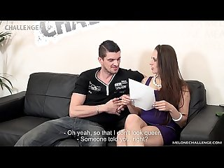 Kamil Klein show to Mea Melone what is old era of porn performer