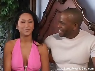 Interracial asian milf with bbc