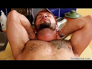 Pierced hunk getting his cock sucked 2 by gotmasked