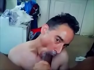 He Loves Eating Black Cum Cream