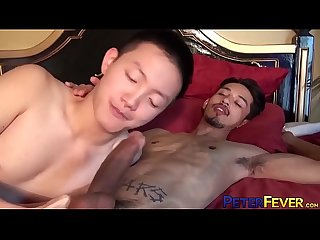 PETERFEVER Big Dick Twink Rave Destroys Asian Hole Hardcore