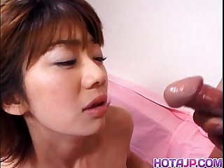 Hardcore action for asian milf koyuki